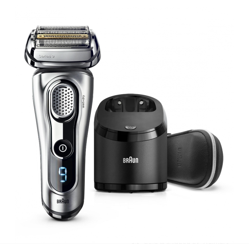 Braun Series 9 9290cc Men's Electric Foil Shaver, Wet and Dry Razor with Clean & Charge Station. (Photo: Walmart)