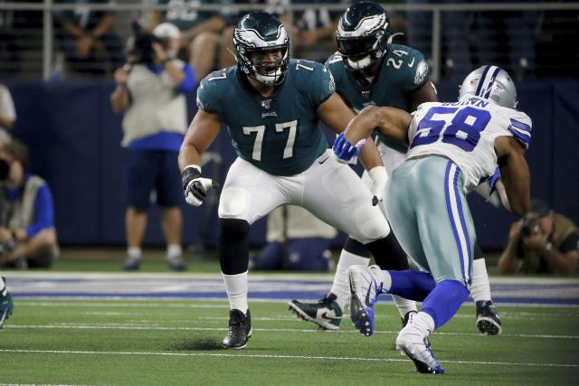 Lane Johnson's concussion could force Eagles to change Andre Dillard's role in Week 12 vs. Seahawks