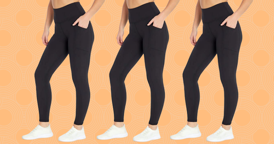 Meet your wear-with-everything black leggings. (Photo: Amazon)