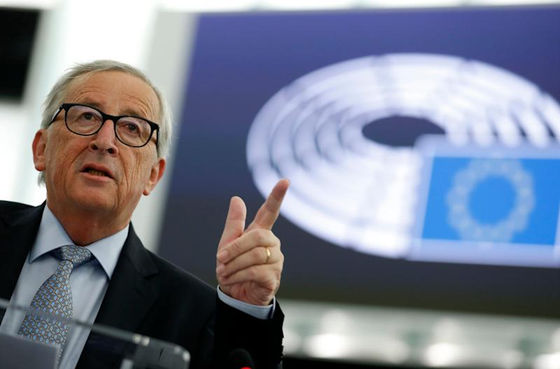 Jean-Claude Juncker has reiterated his concerns of the 'catastrophic consquences' of a no-deal Brexit: AP