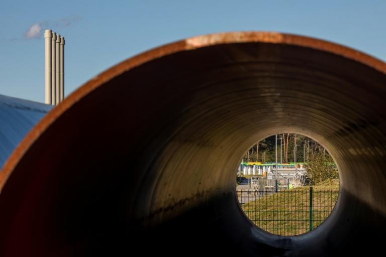 Nord Stream 2 diverts gas supplies from an existing route through Ukraine (AFP/Odd ANDERSEN)