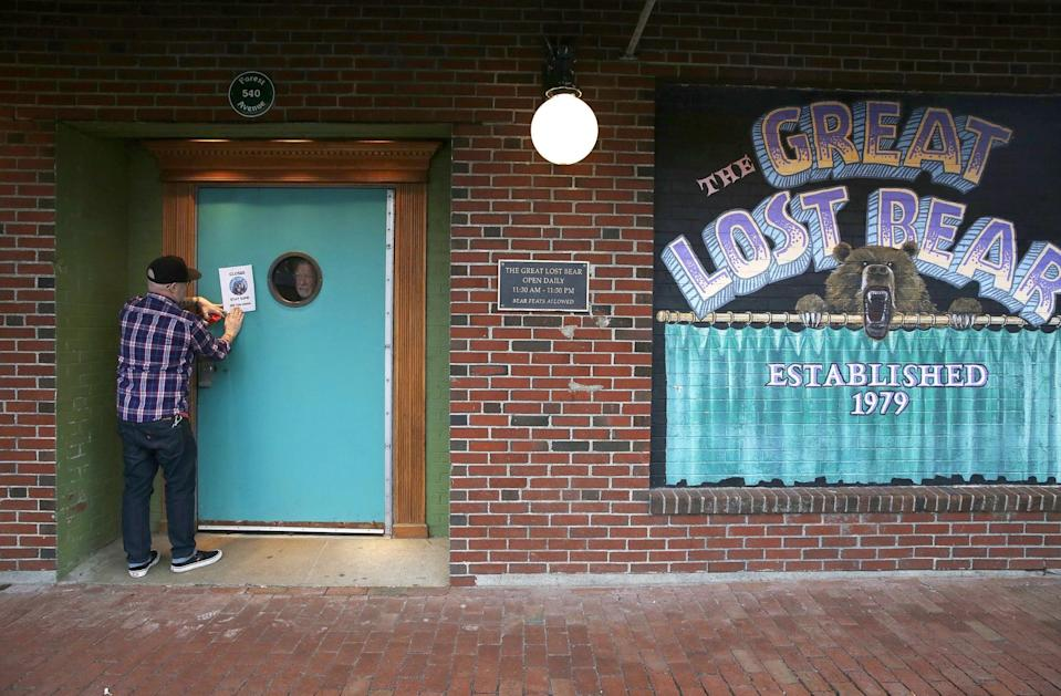 <p>Maine's stay-at-home order is in effect through the end of May, at which time the state will reevaluate what businesses can start reopening. At this time, there's no date for when restaurant dining rooms will open.</p>