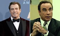 <p>There's a touch of the Tussauds about Travolta's lawyer Robert Shapiro from the hit TV series. </p>