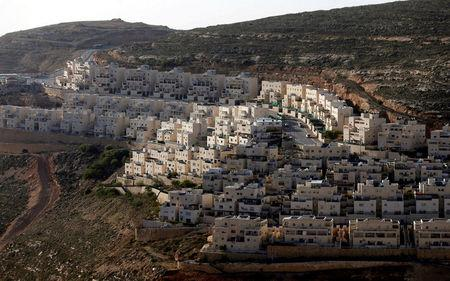 FILE PHOTO: General view of houses of the Israeli settlement of Givat Ze'ev, in the occupied West Bank February 7, 2017. REUTERS/Ammar Awad/File Photo