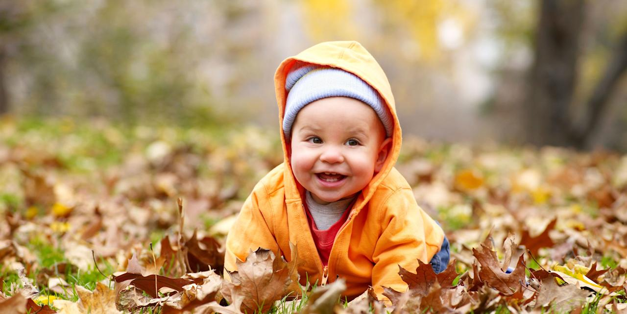 the most popular names for fall babies