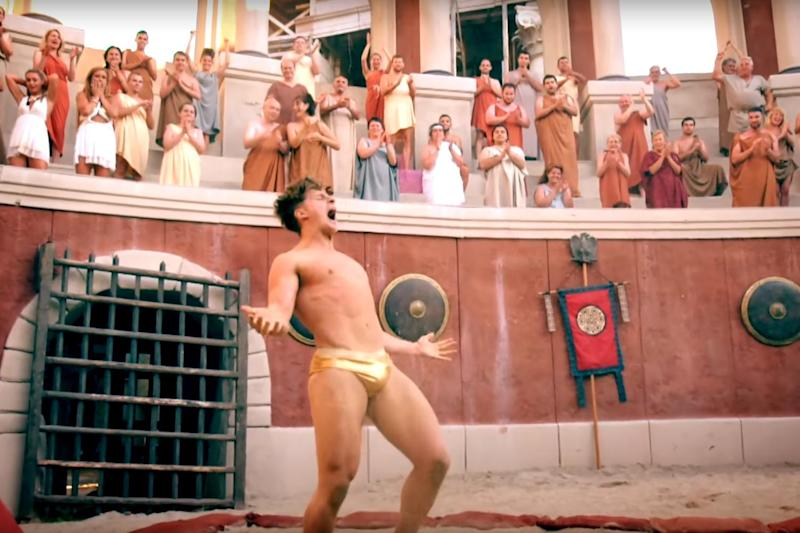 Axed: The Ancient Rome show Bromans failed to become a hit with the viewers