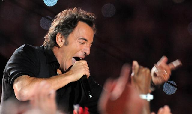 2009: Bruce Springsteen and the E Street Band.(Photo by Jeff Kravitz/FilmMagic)