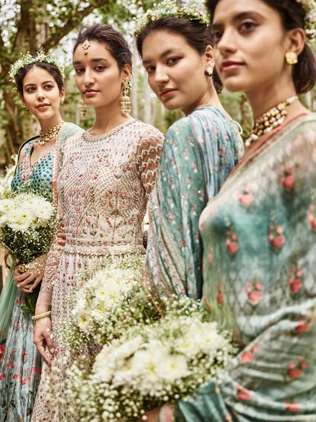 Bridal attire by Anita Dongre. (Photo: Courtesy of Anita Dongre)