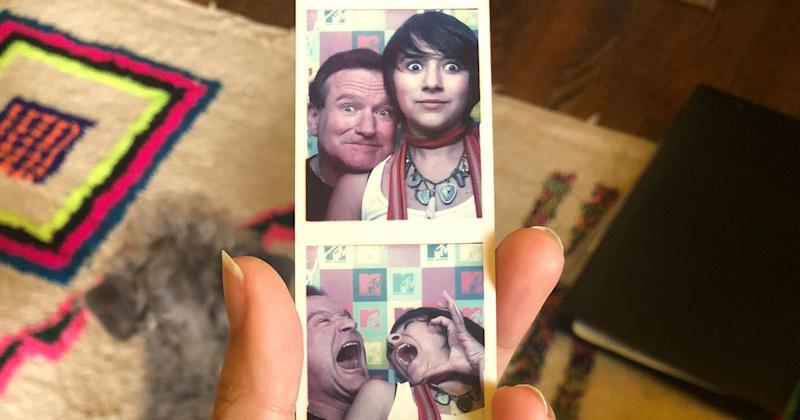 Robin Williams' Daughter Found Sweet Photos Of Her Dad While 'Isolation Cleaning'