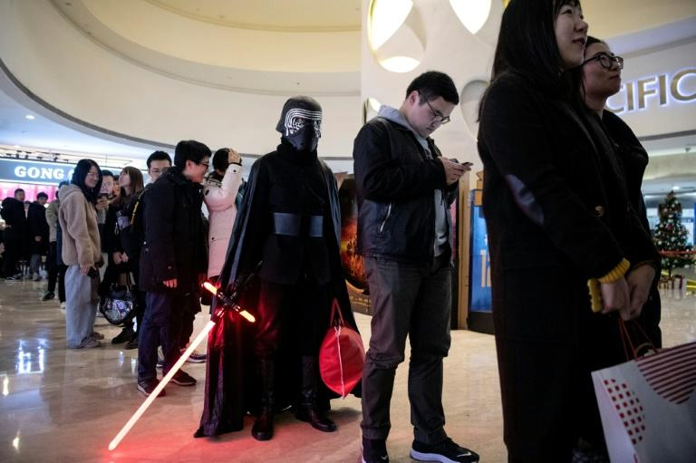 Superfans of the sci-fi series are rare in the increasingly important Chinese market (AFP Photo/NOEL CELIS)