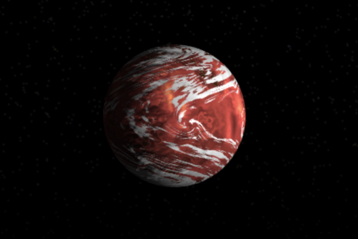<p>It takes 18.6 days for this exoplanet to orbit its M-type star. The exoplanet has a mass 2.89 times the mass of Earth and is about 12 light-years from home.</p>