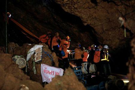 Boys Rescued from Thai Cave in Good Health