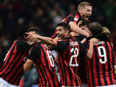 Serie A: Alessio Romagnoli's late winner helps AC Milan beat Udinese and reclaim top-four spot; Lazio crush SPAL