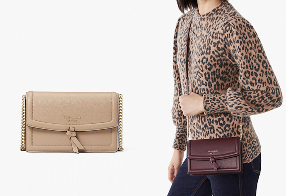 This crossbody is proof that good things come in small packages.