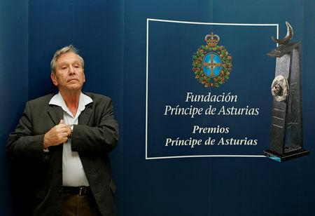 Oz attends a news conference in Oviedo