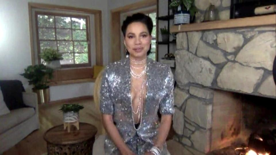 <p>The show may have been virtual, but Jurnee Smollett's slicked-back bob hairstyle at the Critics' Choice Awards in 2021 stole everyone's attention. </p>