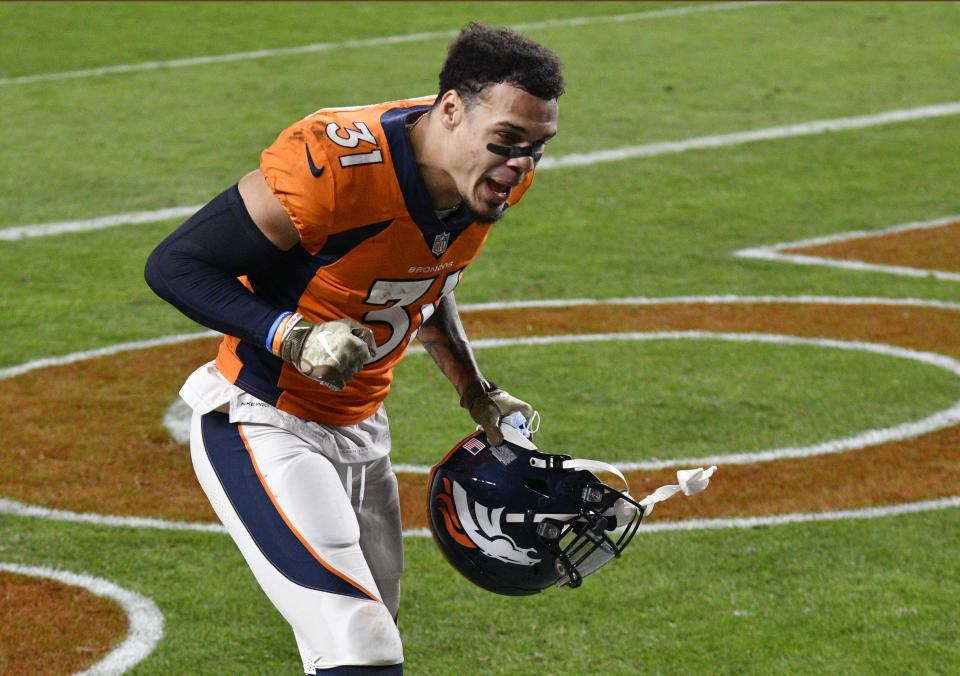 Denver Broncos free safety Justin Simmons