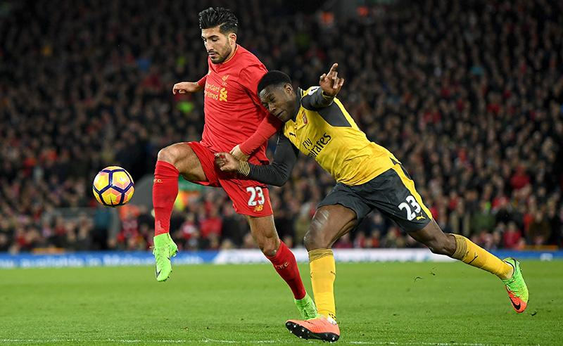 Vitória do Liverpool sobre o Arsenal e tropeço do Manchester United na Premier League elevam lucro dos apostadores