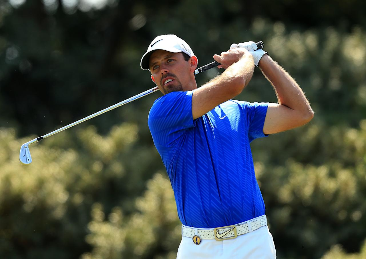 South Africa's Charl Schwartzel during day three of the 2013 Open Championship at Muirfield Golf Club, East Lothian.