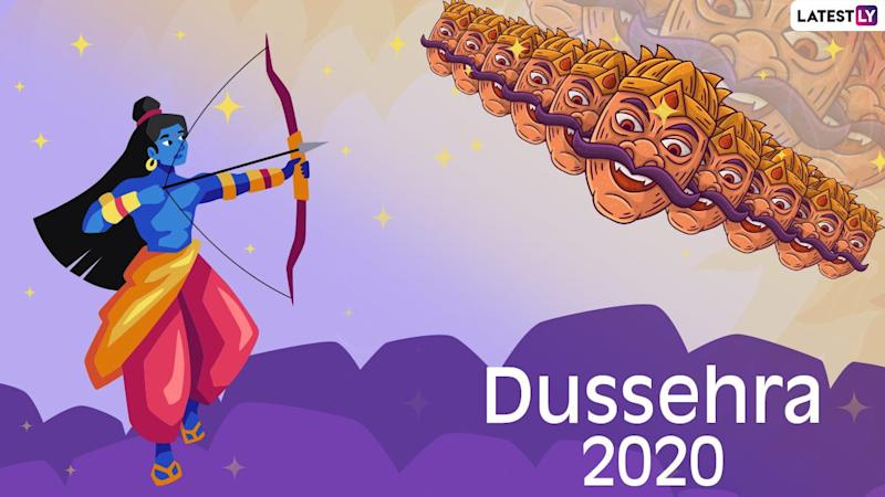When is Dussehra 2020? October 25 or 26, Know The Date, Dashami Tithi, Shubh Muhurat, Significance And Mythological Stories Related to the Hindu Festival