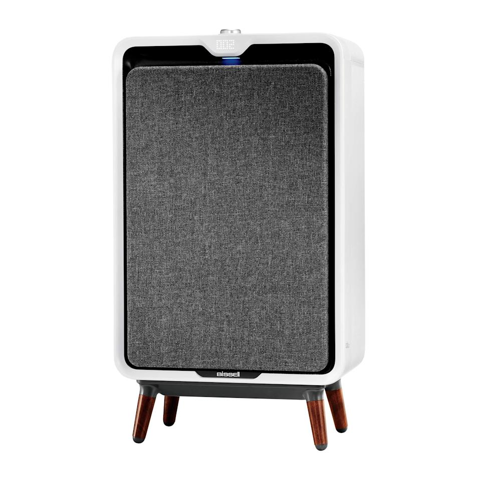 """<h2>Best Pet-Friendly Air Purifier </h2><br>This Amazon Choice pick has a 4.7-star rating and over 2,700 rave reviews. A majority of purchasers attest that this machine helps ease allergies caused by pet hair and significantly reduces any animal odor that may be lingering in the air. <br><br><strong>Bissell</strong> air320 Smart Air Purifier with HEPA and Carbon Filters, $, available at <a href=""""https://amzn.to/2OSmFBZ"""" rel=""""nofollow noopener"""" target=""""_blank"""" data-ylk=""""slk:Amazon"""" class=""""link rapid-noclick-resp"""">Amazon</a>"""