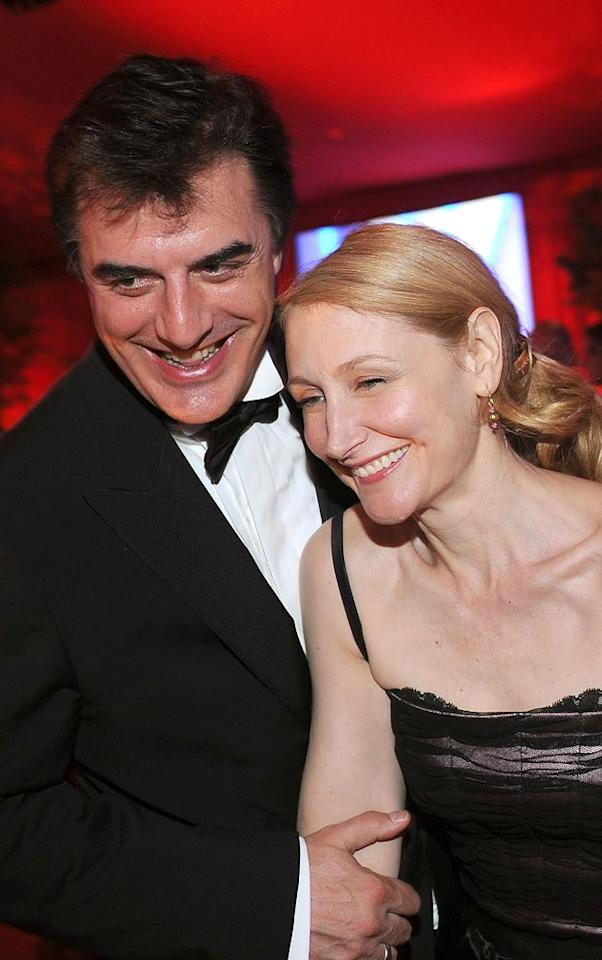 "<a href=""http://movies.yahoo.com/movie/contributor/1800082487"">Christopher Noth</a> and <a href=""http://movies.yahoo.com/movie/contributor/1800022307"">Patricia Clarkson</a> attends the 16th Annual Elton John AIDS Foundation Oscar Party at the Pacific Design Center in West Hollywood - 02/24/2008"