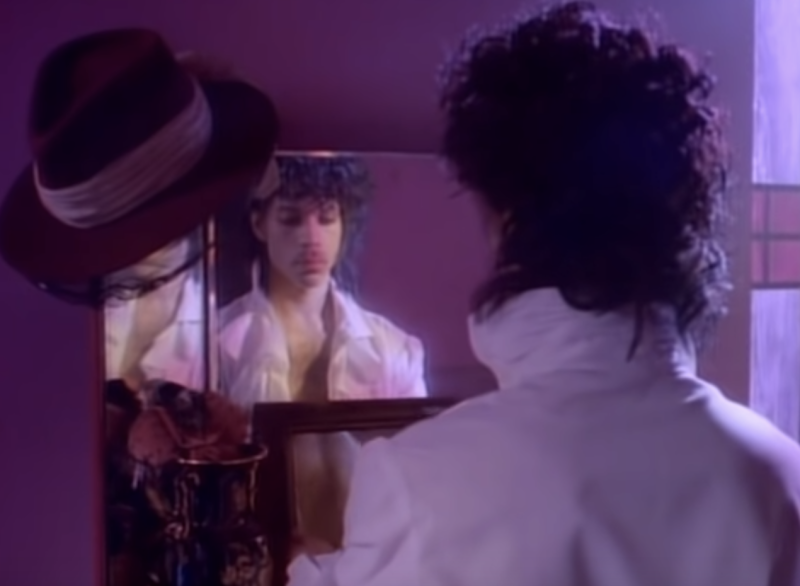 """Prince's """"When Doves Cry"""" video. (Photo: YouTube)"""