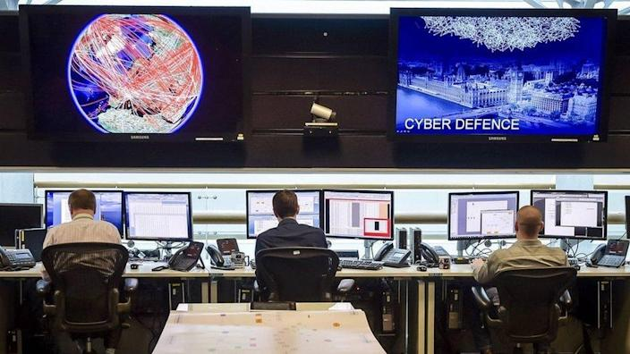 24 hour Operations Room inside GCHQ, Cheltenham