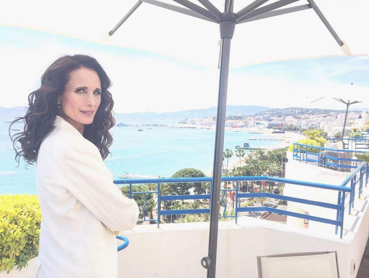 """<p>After the Cannes Film Festival, <a rel=""""nofollow"""" href=""""http://people.com/tag/Andie-Macdowell/"""">Andie Macdowell</a> relaxed at <a rel=""""nofollow"""" href=""""http://www.anrdoezrs.net/links/8029122/type/dlg/sid/POHOMECelebHotelsMS/https://www.hotels.com/hotel/details.html?tab=description&hotel-id=144903&ZSX=0&SYE=3&q-room-0-children=0&q-room-0-adults=2"""">this serene reatreat</a>, which boasts its own private beach dubbed Zplage. </p>"""