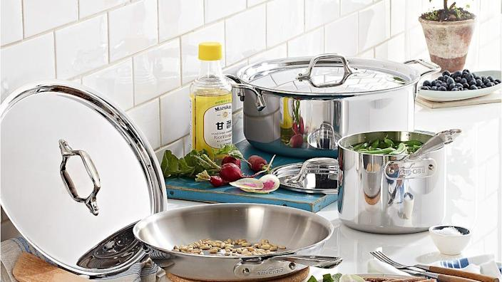 Shop to save on All-Clad cookware at the Fairgrounds Sale.