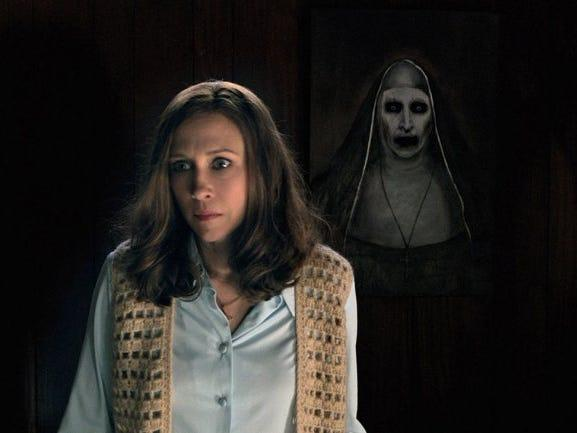 the conjuring 2 nun image