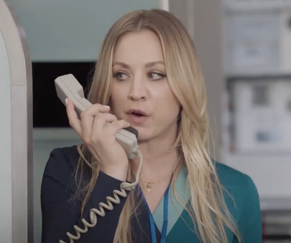 Kaley Cuoco was nominated for her work on