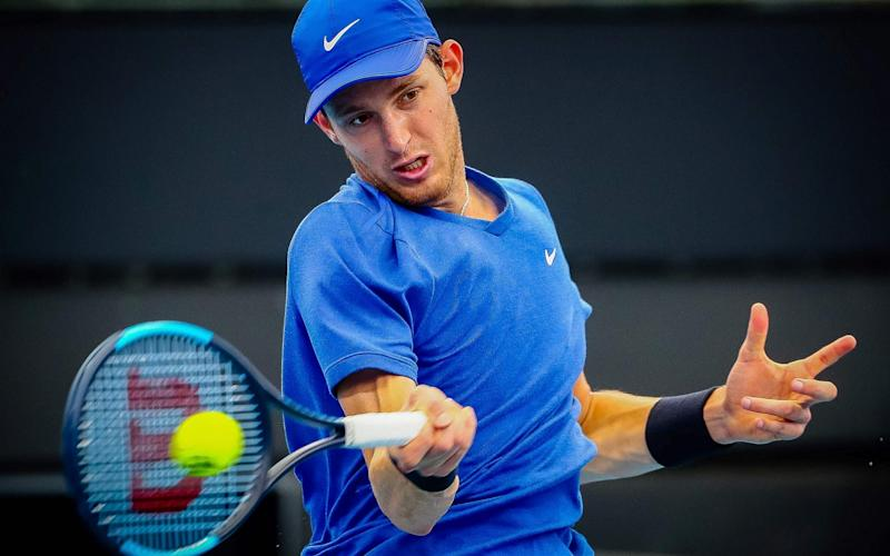 World No 78 Nicolas Jarry tested positive for a banned substance towards end of last season - AFP