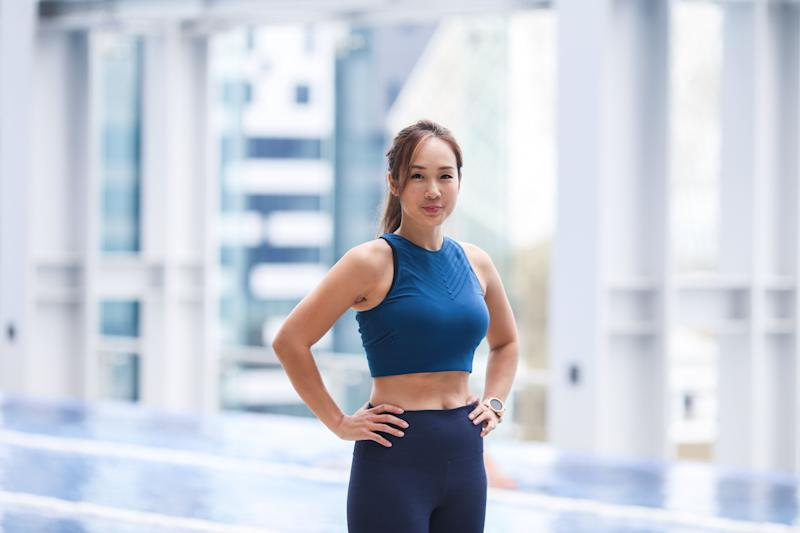 Singapore #Fitspo of the Week: Victoria Cheng (PHOTO: Cheryl Tay)
