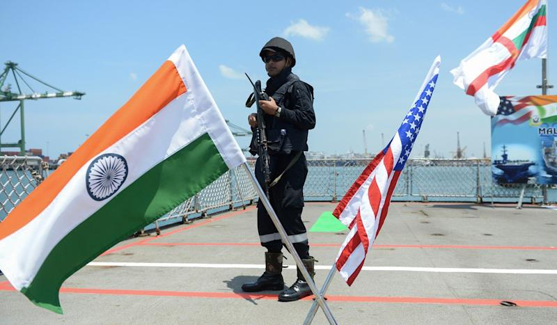Why India's expanding military ties with the United States and Russia could put the squeeze on China