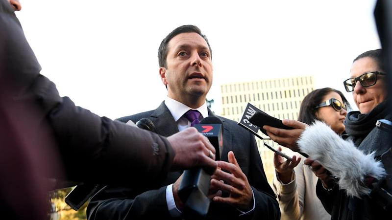 MATTHEW GUY MAFIA BOSS DINNER PRESSER