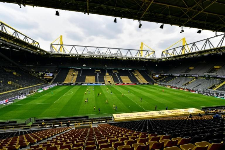 All Bundesliga football and professional sport in Germany will be played behind closed doors from Monday, under new measures announced Wednesday