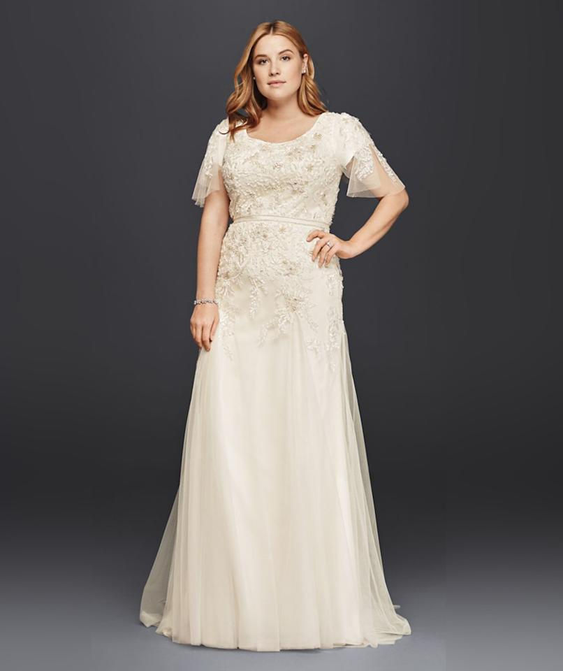 Modest Wedding Dresses Massachusetts : Realsimple weddings dress attire wedding dresses if plus size