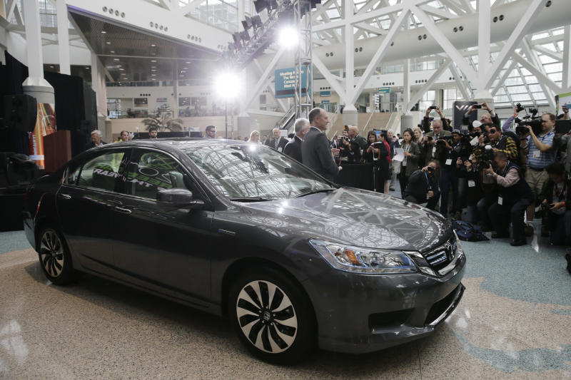 Honda's Accord line wins 'green car' of year award