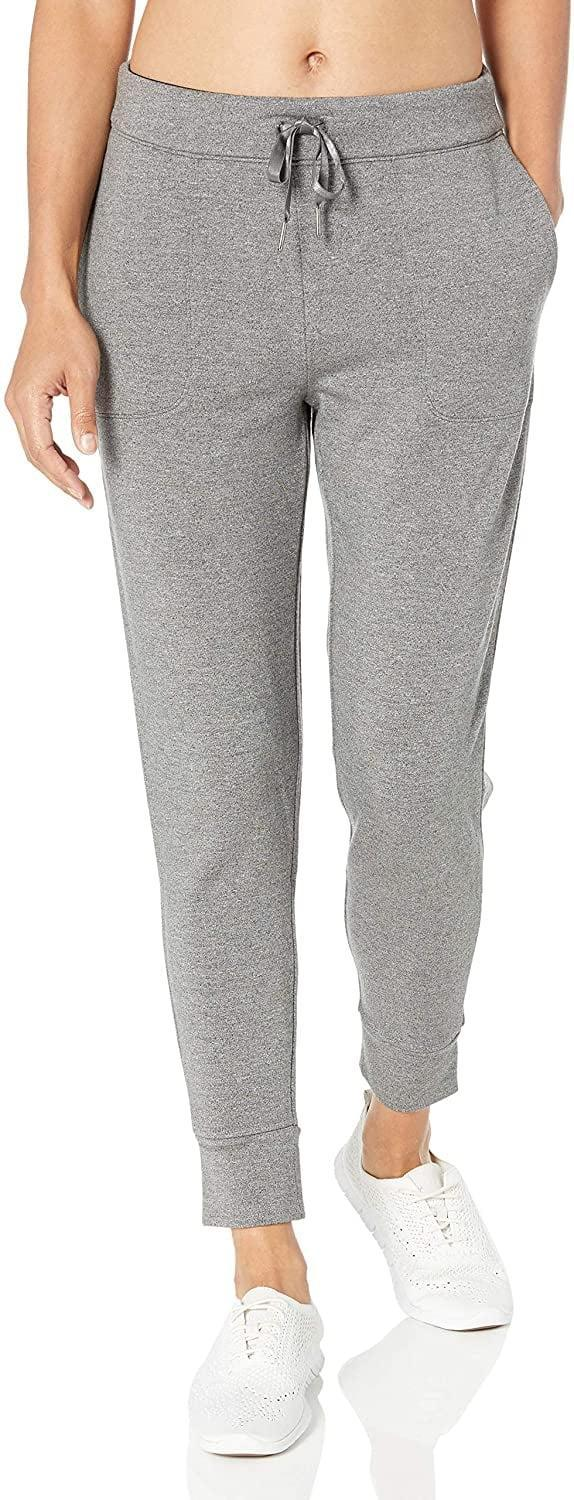 <p>Stay cozy in these <span>Core 10 Cloud Soft Yoga Fleece Joggers</span> ($34).</p>