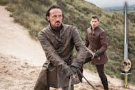 <p>There are survivors and there are those who have elevated surviving to an art form. No matter how many scrapes he gets in, Ser Bronn, Hero of Blackwater Bay, will find a way out.<br><br>(Photo Credit: HBO) </p>