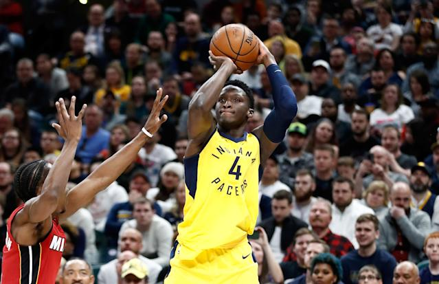 Victor Oladipo has earned his way into the elite category of fantasy shooting guards. (Photo by Andy Lyons/Getty Images)