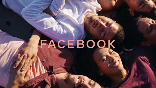 Facebook has embraced capital letters. Photo: FACEBOOK