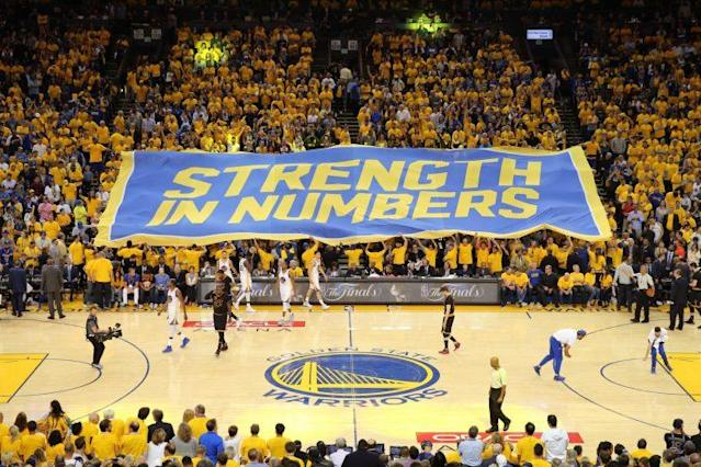 The Warriors are moving out of Oracle Arena in 2019. (Getty)