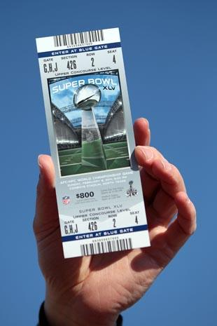 Free super bowl ticket