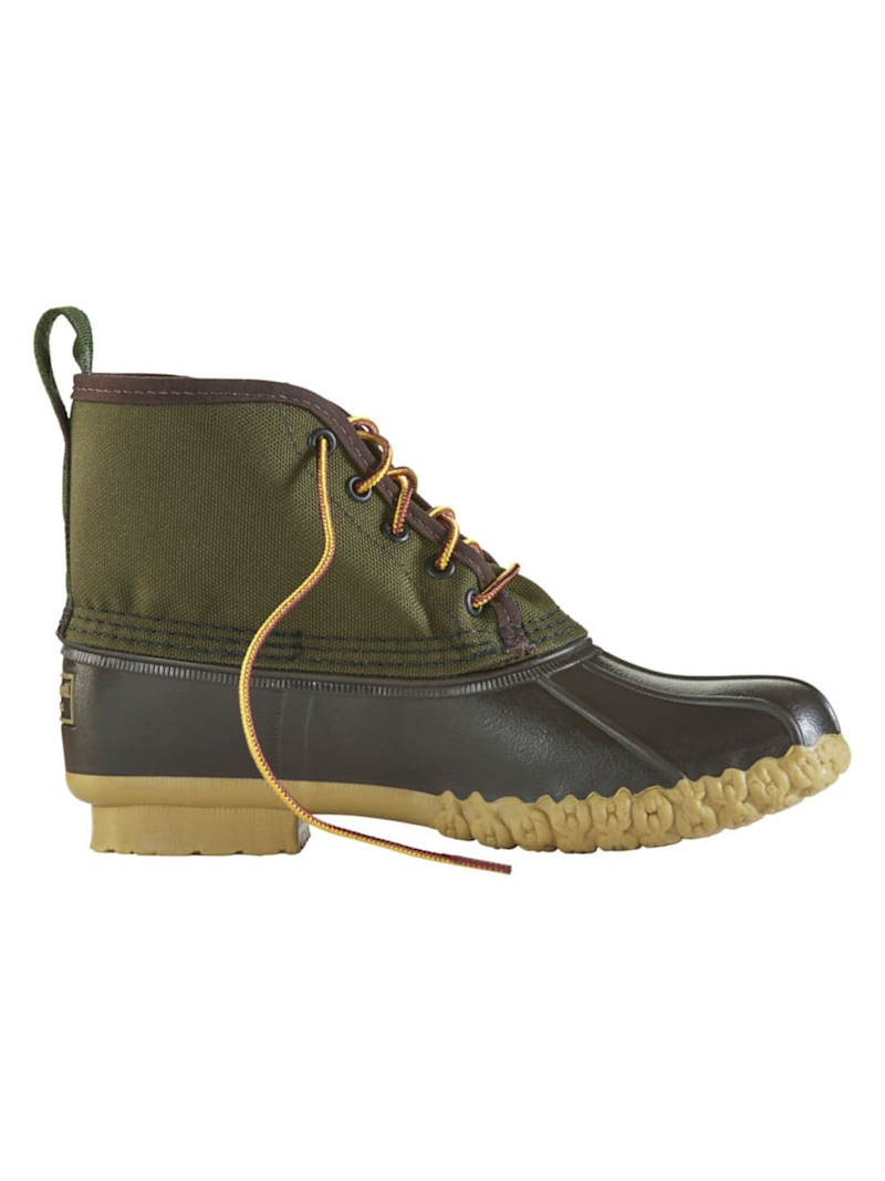 L.L.Bean Limited-Edition Nylon Bean Duck Boots