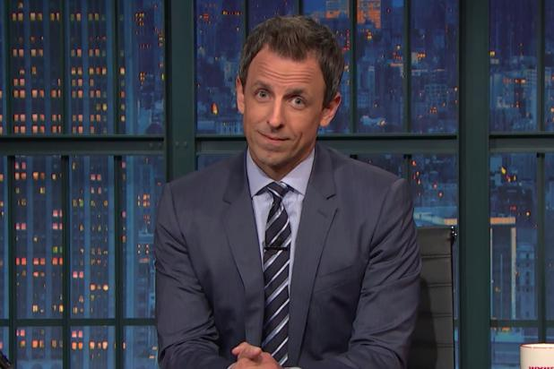 Seth Meyers Delivers His Take on the First Presidential Debate