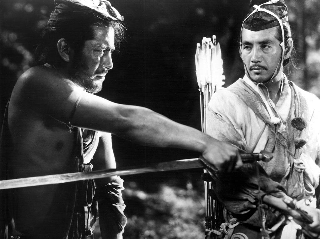 """<a href=""""http://movies.yahoo.com/movie/1800110088/info"""">RASHOMON (1951)</a>   """"The two samurai hunting each other in the forest is a dizzying display of filmic prowess. Since imitation is the sincerest form of flattery, it's no wonder that this sequence gets quoted all the time."""""""