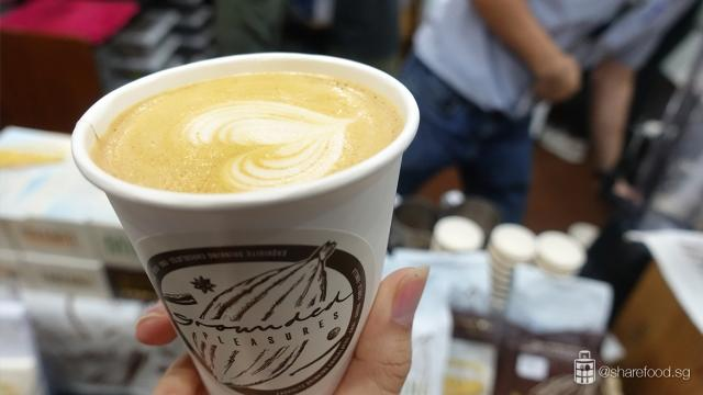 La Kopi Singapore 2019 Grounded Pleasures Dirty Chai