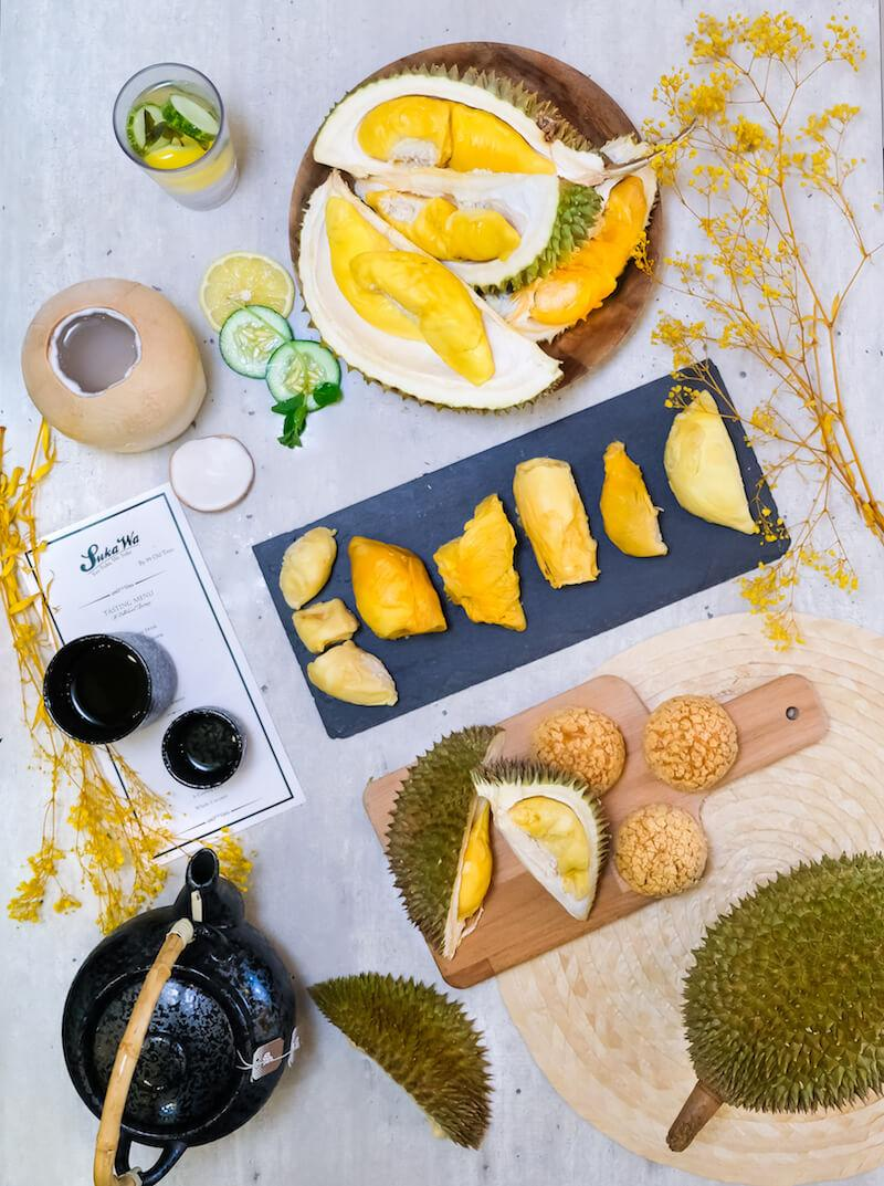 Durians for days at SukaWa. Photo: 99 Old Trees